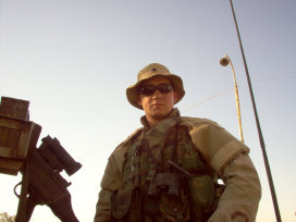 Robert Carr Owner and Instructor during his time in Iraq 2005