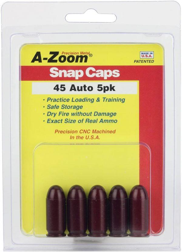 A-Zoom Snap Caps 45 Auto