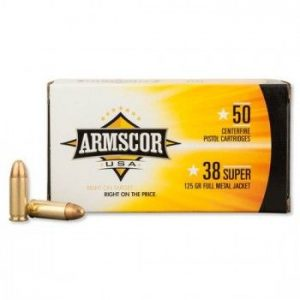 Armscor 38 Super 50 rounds 2