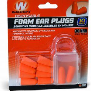 Walker's Foam Ear Plugs 1