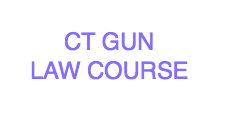 CT Gun Law Course