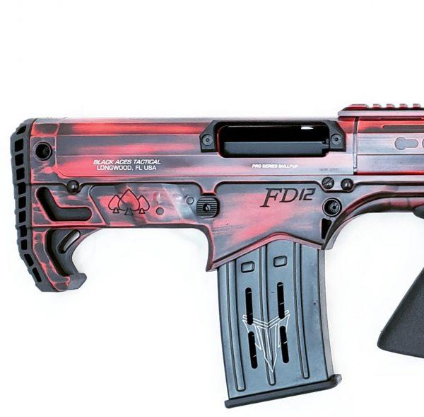 Pro-Series-Bullpup-Pump-Distressed-Red-Rear